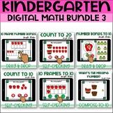 Kindergarten Digital Math Bundle 3 for Google Classroom