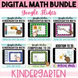 Kindergarten Digital Math BUNDLE 1 Google Classroom Distan