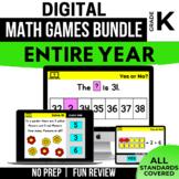 Kindergarten Digital Math Games Bundle | Distance Learning