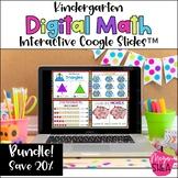 Kindergarten Digital Math Google Slides for Distance Learning