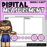 Kindergarten Digital Measurement (Google Slides™)