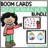 Kindergarten Digital Morning Work Bundle | Boom Cards™