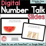 Kindergarten Digital Number Talk Slides