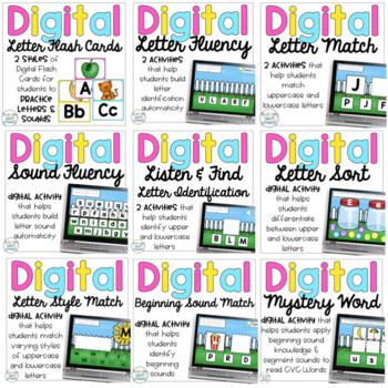 Kindergarten Digital Phonics Pack