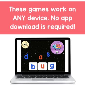 Kindergarten Digital Phonics Yearlong Bundle | BOOM Cards™