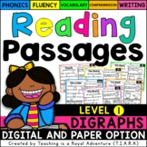 Digraph Reading Passages LEVEL 1 - Distance Learning