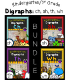 Kindergarten Digraphs The Bundle: ch, sh, th, wh