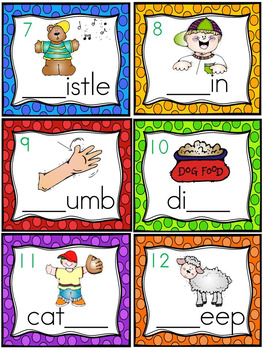 Kindergarten Digraphs in the Jungle * Initial and Final sh, ch, th, wh *
