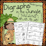 Kindergarten Digraphs in the Jungle * Initial and Final sh