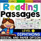 Kindergarten Diphthong Reading Passages