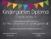 Kindergarten Diploma *FREEBIE*