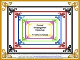 End of Year Kindergarten Graduation Diploma, Certificate or Award