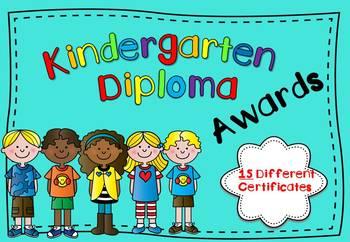 Kindergarten Diplomas (Certificates)