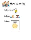 Kindergarten Directions for Writing