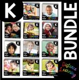 Kindergarten Daily Review BUNDLE - Independent Worksheets