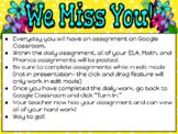 Kindergarten Distance Learning/Digital Resources for Googl