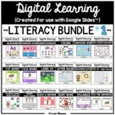 Digital Learning - LITERACY BUNDLE #1 for Distance Learnin
