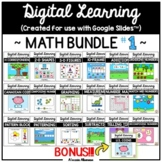 Digital Learning - MATH BUNDLE #1 for Distance Learning {G