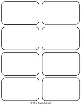 Kindergarten Dolch Sight Word Cards FREEBIE