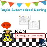Kindergarten Dolch Sight Word Fluency - Rapid Naming Boards