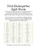 Kindergarten Dolch Word Bulletin Board Stars