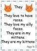 Kindergarten Dolch Word Poems