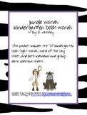 Kindergarten Dolch Words: Jungle Theme
