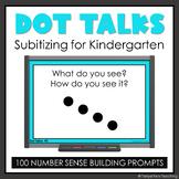 Kindergarten Dot Talks Subitizing Number Sense Activities MATH FLUENCY YEARLONG