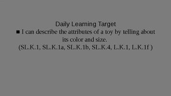 Kindergarten EL Module 1 Unit 2 Lesson 2