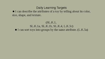 Kindergarten EL Module 1 Unit 2 Lesson 4