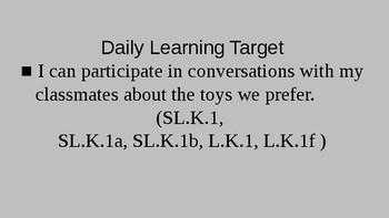 Kindergarten EL Module 1 Unit 2 Lesson 5