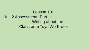 Kindergarten EL Module 1 Unit 2 Lessons 10