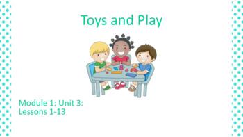 Kindergarten EL Module 1 Unit 3