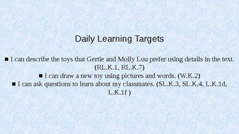 Kindergarten EL Module 1 Unit 3 Lesson 5