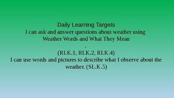 Kindergarten EL Module 2 Unit 1 Lesson 2