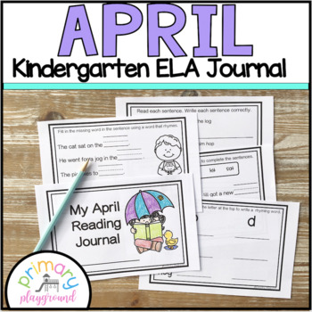 Kindergarten ELA April Reading Journal