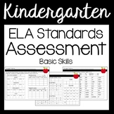 Kindergarten ELA Assessment -  Basic
