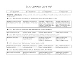Kindergarten ELA Common Core Map