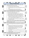 """Kindergarten ELA Common Core Standards with Kid Friendly """""""
