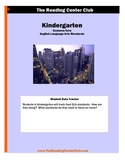 Kindergarten ELA Common Core Standards for Student Tracking
