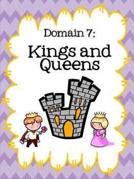 Kindergarten ELA Domain Binder Covers