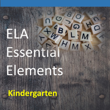 Kindergarten ELA Essential Elements for Cognitive Disabilities: Data Collection