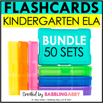 Kindergarten ELA Flashcards