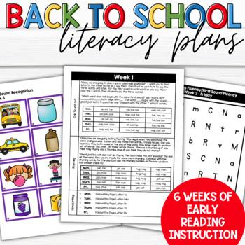 Kindergarten ELA Literacy Skills
