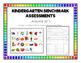 Kindergarten ELA & Math Benchmark Assessments for the Entire Year