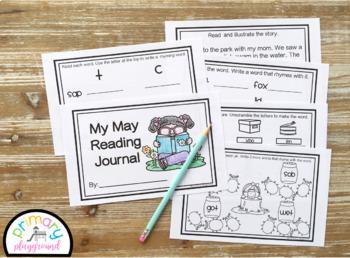 Kindergarten ELA May Reading Journal