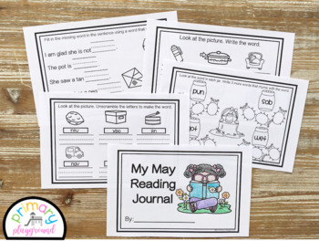 Kindergarten ELA Reading Journal Bundle
