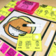 Kindergarten ELA Toothy™ Task Kits | Games | Centers | Spiral Review Bundle