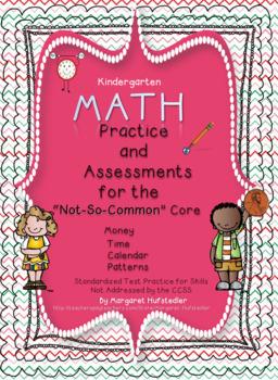 Kindergarten ELA and Math Standardized Test Practice