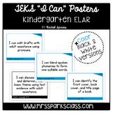"""Kindergarten ELAR TEKS """"I Can"""" Statement Posters 2019-2020"""